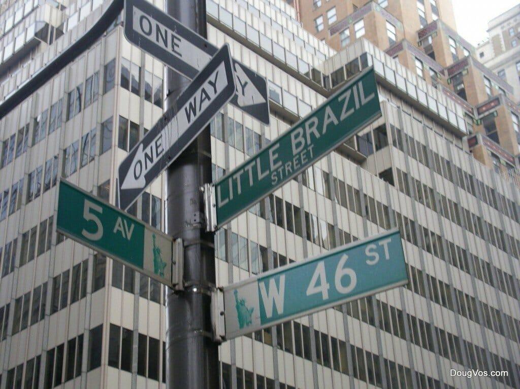 Little Brazil Street - New York, NY