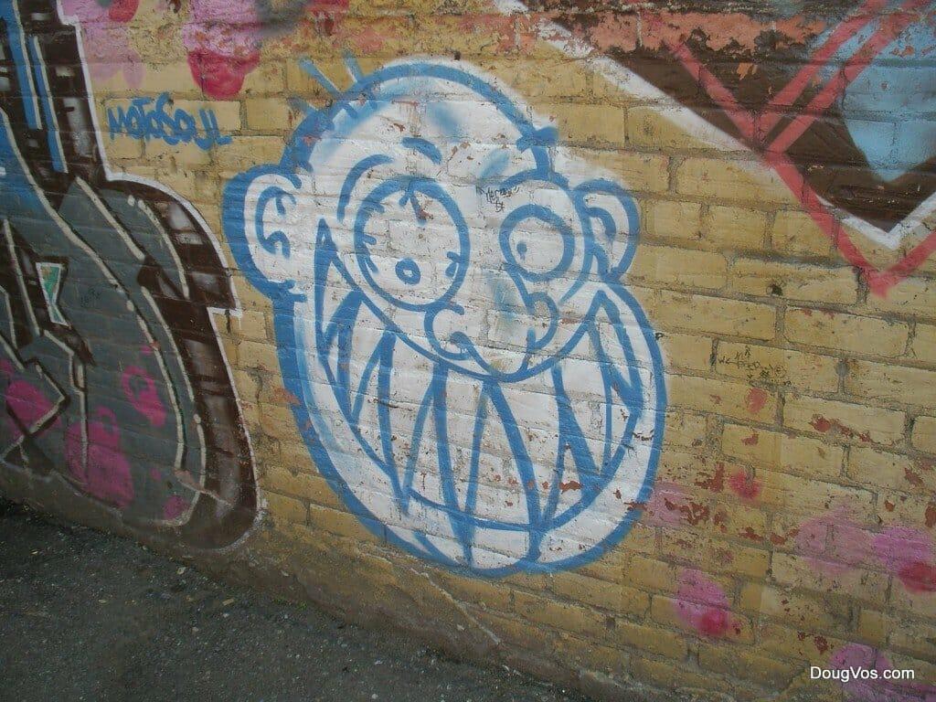 Graffiti in Detroit - MotoSoul