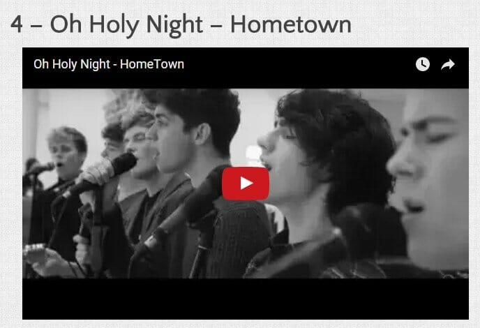 Oh Holy Night - by Hometown