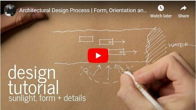 Architectural Design Process - Sunlight Focus - Video Preview Image