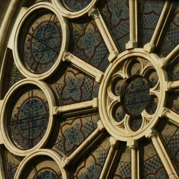 circular pattern - rose window motif